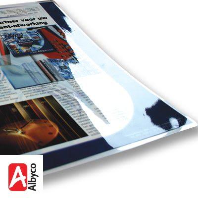 Les pochettes à plastifier brillantes Albyco