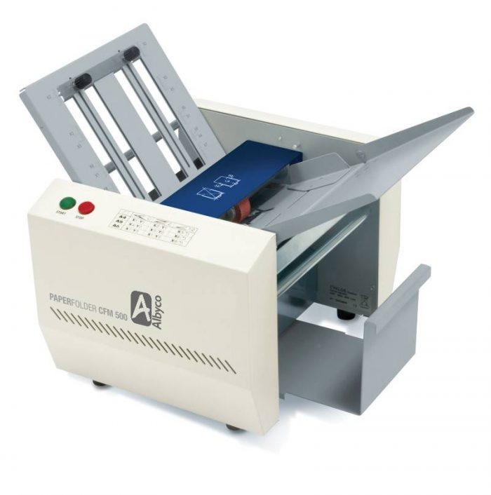 Albyco CFM500 vouwmachine