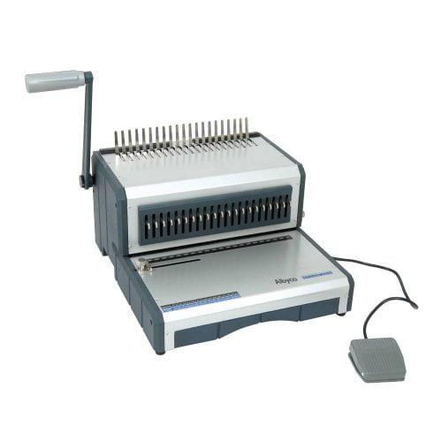 Albyco D160 bindmachine voor plastic bindruggen