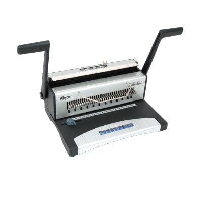 Albyco S303 bindmachine voor wire draadbindruggen