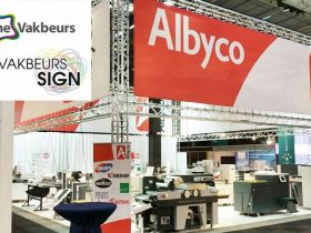 Albyco op de Grafische Vakbeurs en Vakbeurs Sign