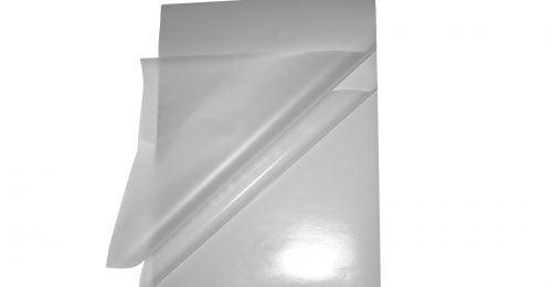 Les pochettes à plastifier adhésives