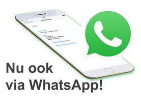 Albyco nu ook bereikbaar via WhatsApp!