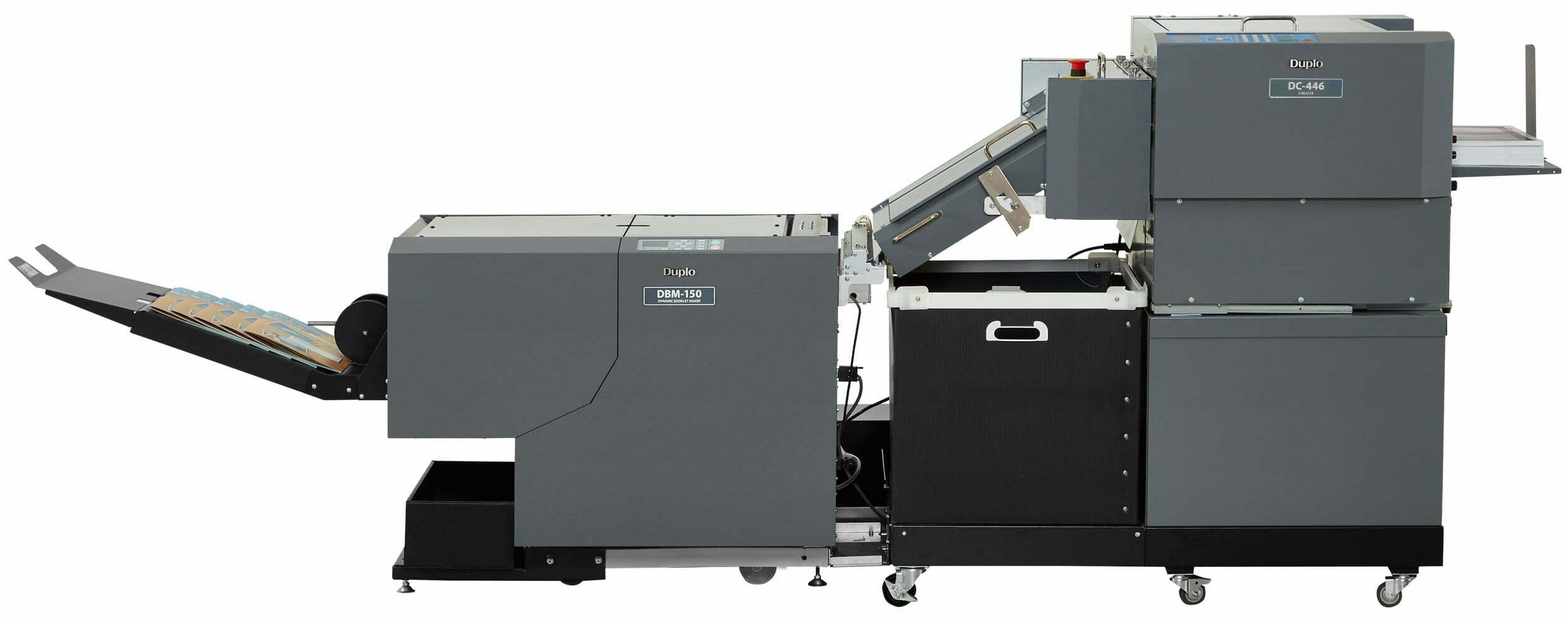 Duplo-150Cr-DC-446-&-DBM-150 bookletmaker met ril