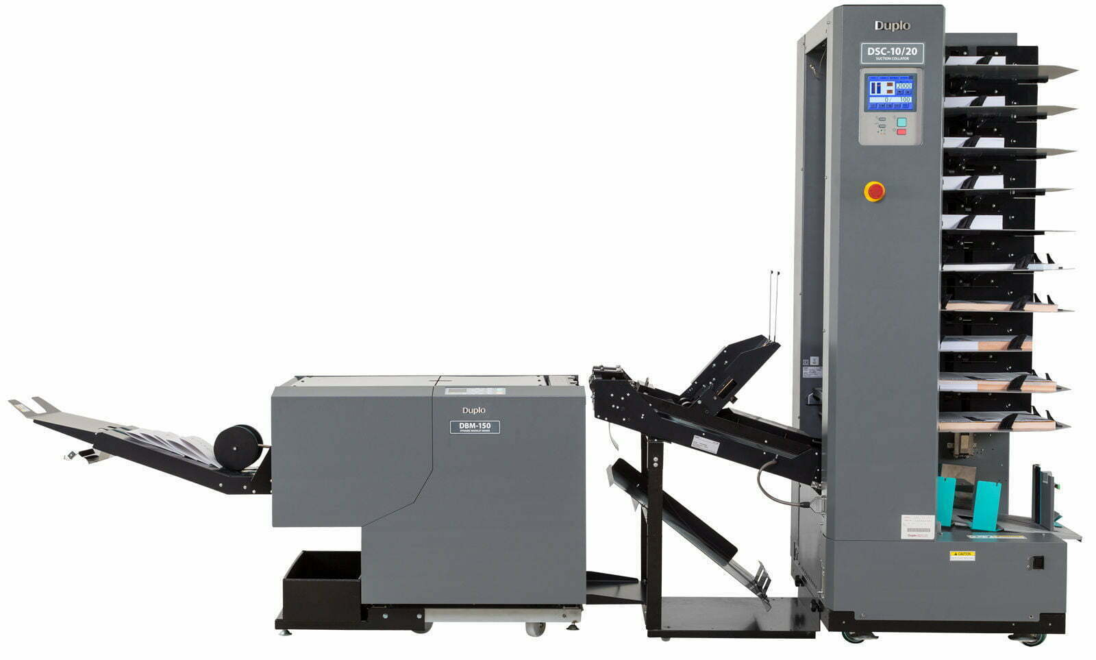 Duplo DBM-150C met Duplo DSC-10/20
