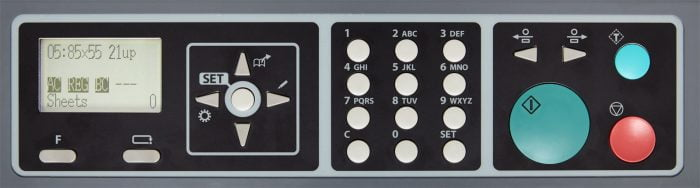 DC-616 Control Panel