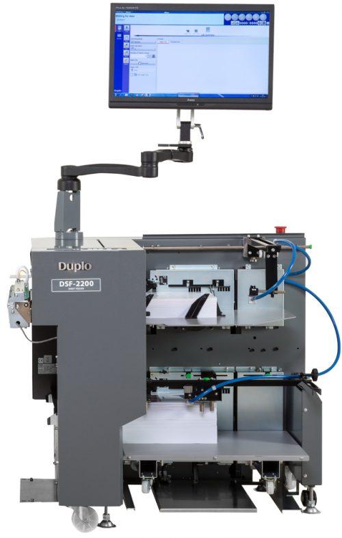 Duplo DSF-2200 screen