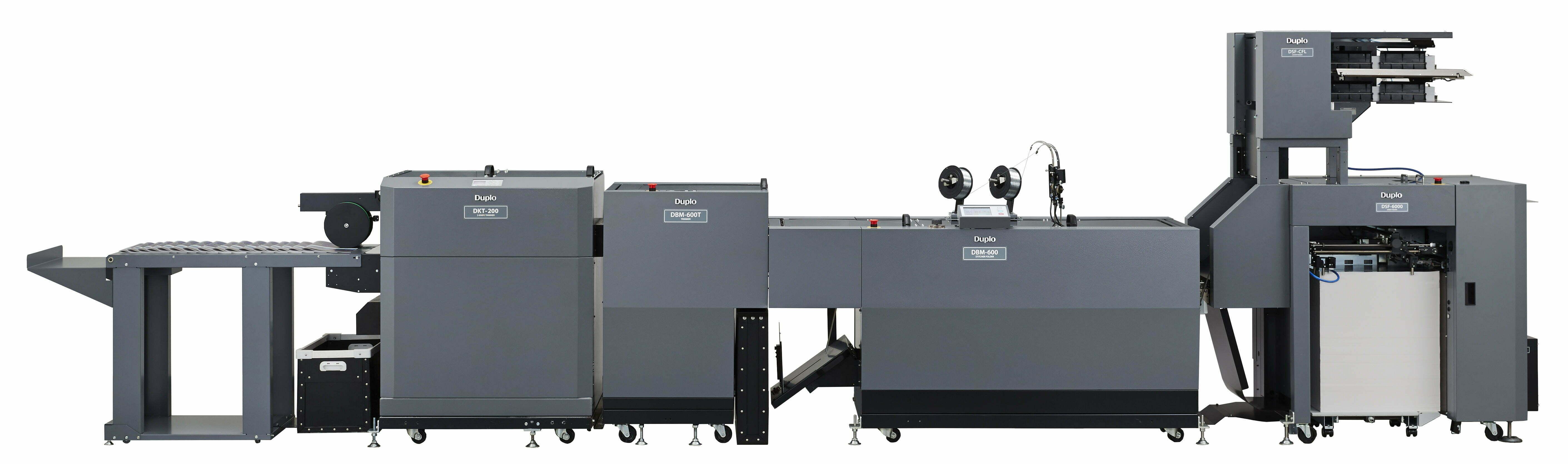 Duplo 600 Pro Digital Booklet System Vouwhechtsysteem