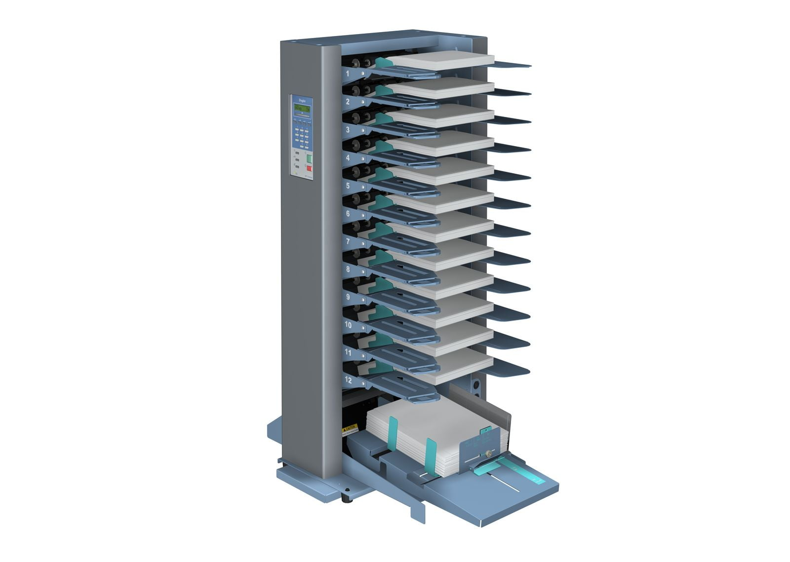 Duplo DFC-120 Mini Collator Vergaarsysteem