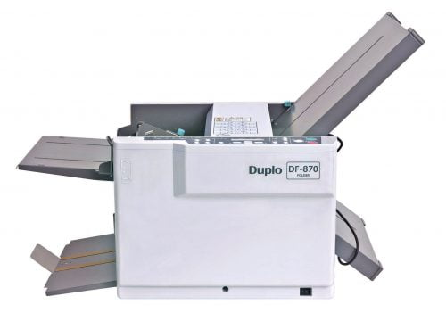 DUPLO-DF870 vouwmachine
