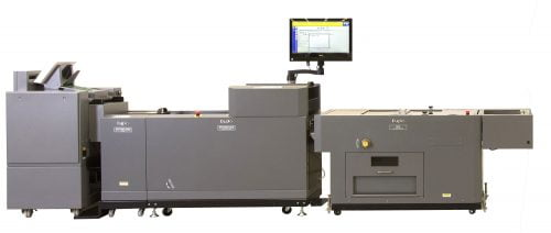 Duplo 350R Inline Booklet System, vouwhechtsysteem