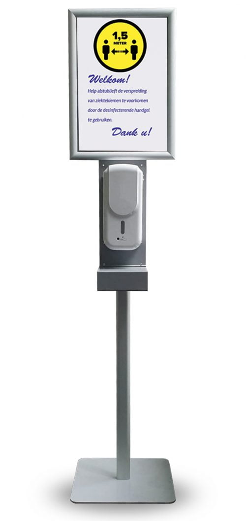 Medic-Plus-Handhygiene-Infostand-MET-DISPENSER