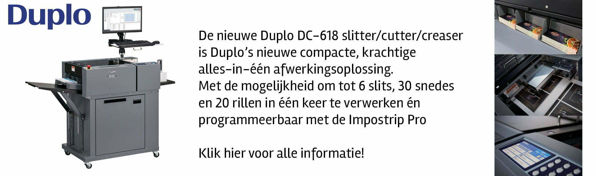 Duplo DC-618 DocuCutter