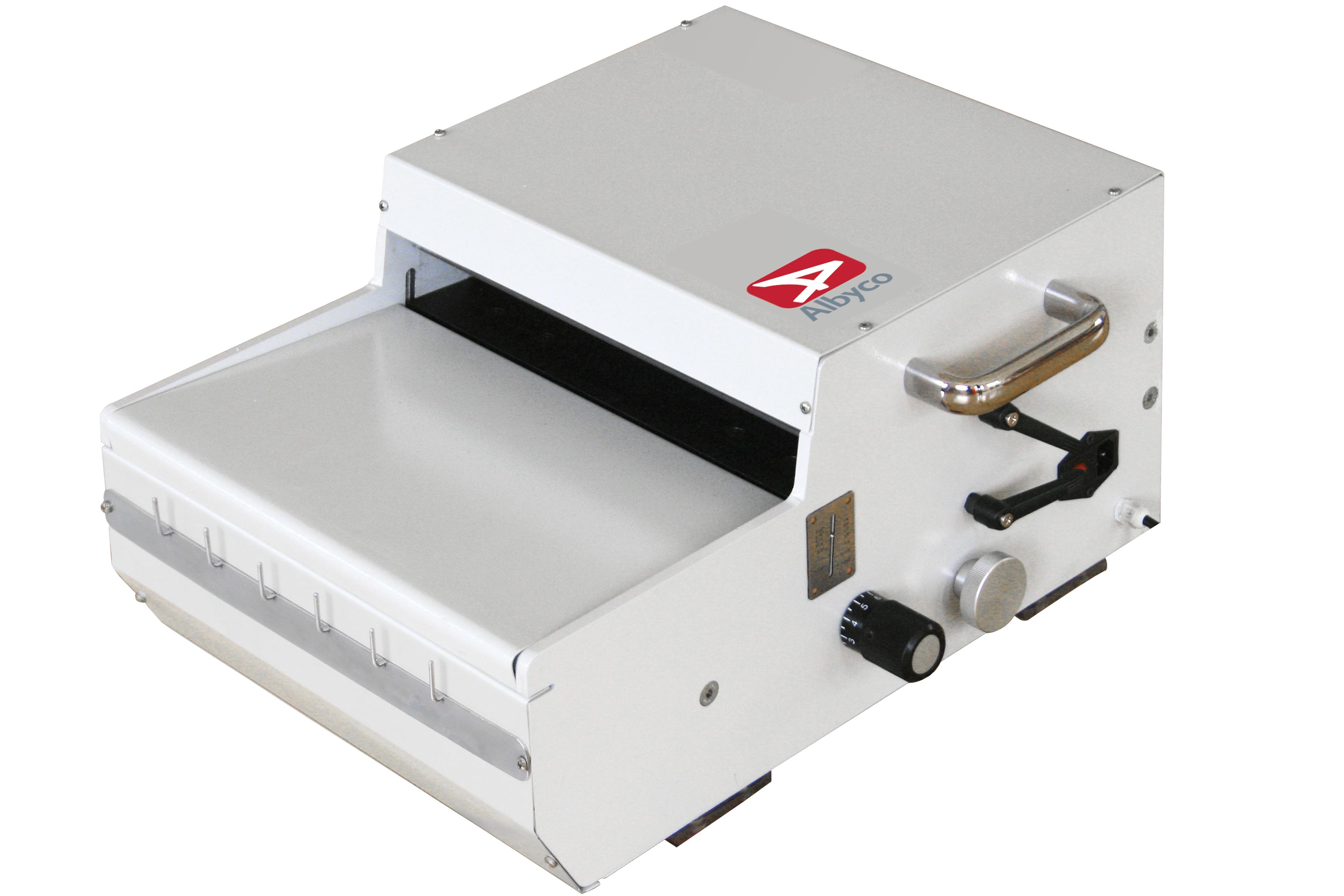 Relieuses électriques Albyco MC-360 pour peignes métalautomatisées